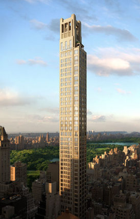 520 Park Avenue with Tuned Mass Dampers