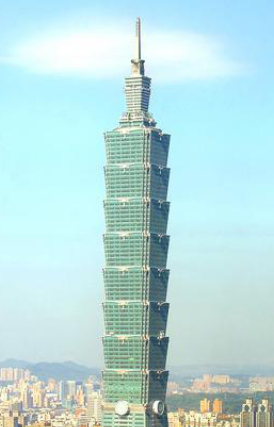 Taipei 101 with Tuned Mass Dampers