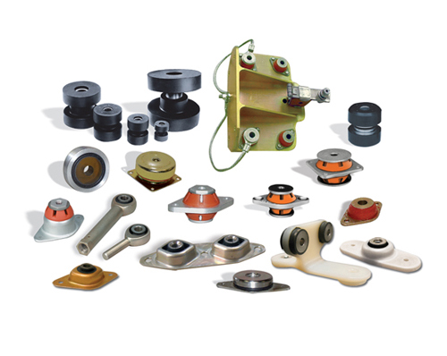 custom elastomers, isolation vibration, vibration isolation mount, noise isolation