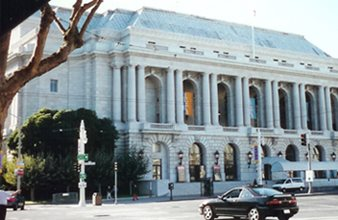 San Francisco opera House with Seismic Damping