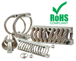 RoHs Compliant Wire Rope Isolators